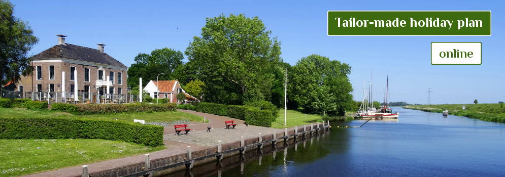 Tailor Made Holiday Plan for Groningen in the Netherlands